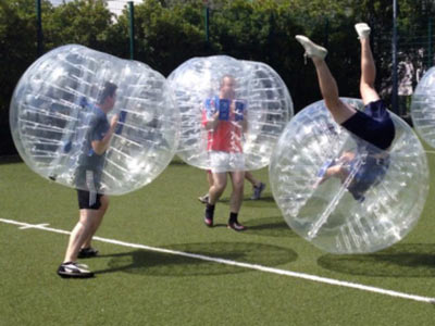 Bubble-Soccer - Fußball mal anders